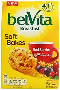 Belvita Soft Bakes - 5 x 50g in 3 flavours - £1.39 online / in-store @ Tesco