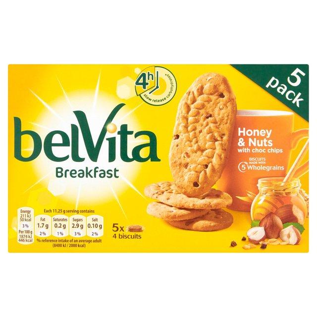 Belvita Breakfast Biscuits - 5 x 45g in 5 flavours - £1 online / in-store @ Morrisons