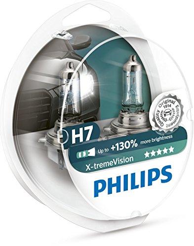 Philips X-tremeVision Car Headlight Bulb, H7 12V, 55W Halogen, 2-Pack £15.07 prime / £19.09 non prime @ Amazon