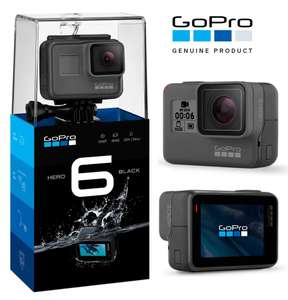GoPro HERO6 Black 4K Ultra HD Camera £285 with code @ eglobalcentraluk