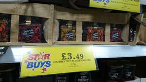 3 x 290ml chutney - £3.49 at home bargains prenton / wirral