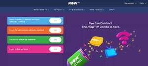 NOW TV 1 Month Cinema £9.99 -  Topcashback works out being in profit by 1p - £10 cashback