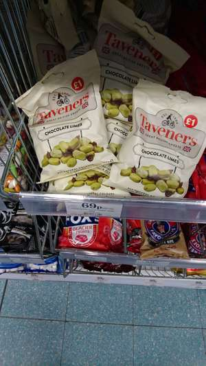 Taveners 165g chocolate limes 69p @ home bargains prenton / wirral