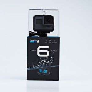 GoPro HERO6 Black 4K Ultra HD Camera £274 - sold by eglobalcentral @ eBay Uk