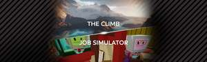 The Climb and Job Simulator for less than The Climb on its own - £21.99 @ Oculus Store