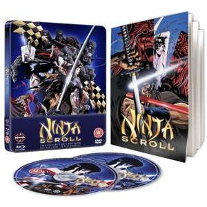 Ninja Scroll Steelbook Blu-ray & DVD £6.29 (With Code MXPC) @ 365Games