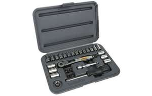 "Halfords 30 Piece Socket Set 1/4"", £10 at halfords"