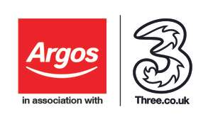 Sim Only Contract: £50 Argos Gift Card - 3 Network, 30GB Data, Unlimited Calls & Texts - £20 pm (Term £240) @ Argos