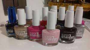 Maybelline Super Stay 7 days nail polish 50p instore @ wilko