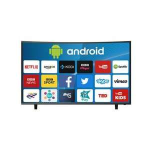 "ElectriQ 65"" Curved 4K Ultra HD LED Smart TV With Android And Freeview HD @ Appliances Direct - £597.97 + del which is £29.95 next day or £19.95 standard delivery"