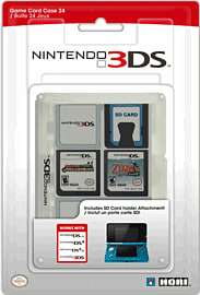 Nintendo 3DS Hori Game card case - Clear - £4 @ GAME