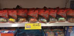 Disney Pixar Cars 3 die cast cars Home Bargains - £2.99