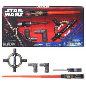Star Wars Bladebuilders Spin Action Light Up Lightsaber £9.99 @ HomeBargains