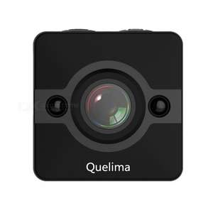 Quelima SQ12 Mini Dash Cam 155 Degrees 1080P FHD DVR - Black £8.36 w/code @ Rosegal