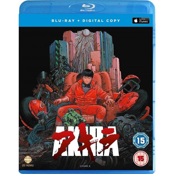 AKIRA Blu-ray & Digital Copy (2017 Edition) £6.29 delivered @ 365Games [Original 1988 Streamline English dub & 2001 Pioneer/Animaze English dub & original Japanese dub (with English subtitles)]