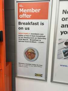 Free IKEA breakfast - treat the family this Easter - Warrington