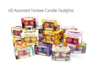 60 Assorted Yankee Candle Tealights £17 (RRP £34.95 @ Groupon + (£1.99 delivery) + additional 15% off w/ code BESTOF (ends tonight)
