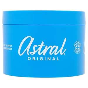 Astral Cream 500ml £3.95 @Superdrug online free click n collect
