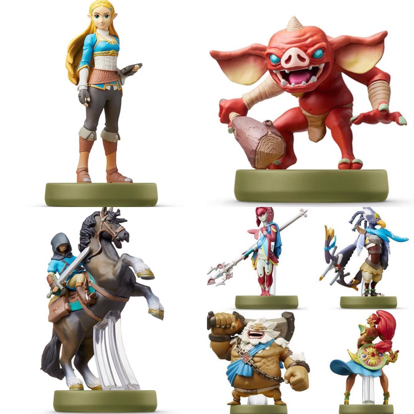 Various Zelda BOTW Amiibo @ Amazon from £12.99 (Non Prime add £1.99 P&P unless spending £20+)