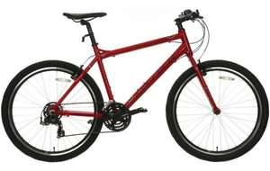 Carrera Axle hybrid bike in red: was £330, down to £180 at Halfords.