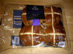 Free (worth £1) Morrison's The Best Extra Fruity hot cross buns (4 pack) with baby and more voucher