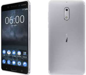 Nokia 6 in Steel Silver - 32GB Storage/3GB RAM Version (Refurbished in Pristine Grade A Condition) - £109.97 from Laptops Direct