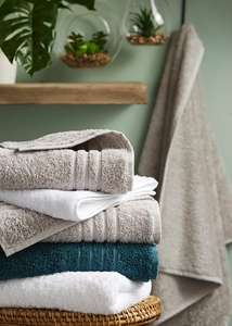 Matalans 700gsm Egyptian cotton towels are reduced in their sale - from £4