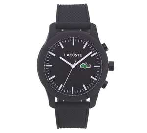 Lacoste Men's 12.12 Black Contact Smart Watch £83.99 @ Argos