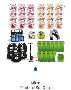 Mitre football starter set - £192 (with code) @ Sports Direct - Plus £4.99 P&P