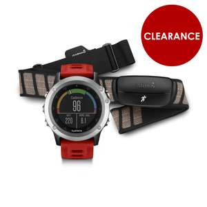 Garmin Fenix 3 GPS Watch performer bundle including heart rate chest strap £245.99 @ Winstanley Bikes