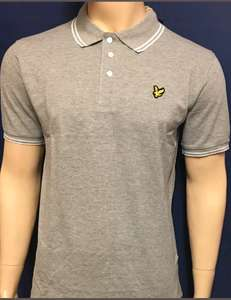 Lyle & Scott Polo Shirt (Large & Grey only) £6.93 @ eBay  hhfashion2017