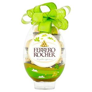 Ferrero Rocher 16 pieces in Easter Egg: 3 for £10 at Asda Online (£1.67/100g or 20.8p/piece)