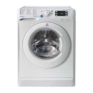 Indesit BWE91484XW Washing Machine, 9kg Wash Load, 1400 RPM Spin Speed – White @ Indesit store ebay