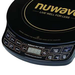 NuWave – PIC Gold Precision Induction Cooktop Hob Seller 3-Monkeys £59.99 Sold by 3-Monkeys and Fulfilled by Amazon.