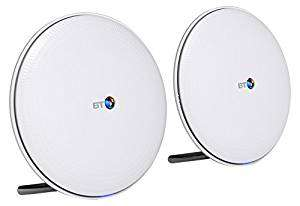 BT Whole Home Wi-Fi, Pack of 2 Discs, Mesh Wi-Fi £99.99 Amazon