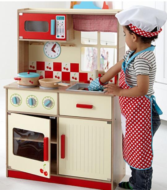 Kids Wooden Deluxe Kitchen now £35 C+C @ Asda George