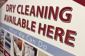 Free dry cleaning for those that are unemployed and have an interview at Timpson - no need to be on the dole