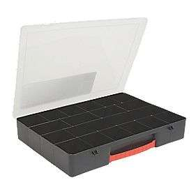 18 section COMPARTMENT ORGANISER LARGE (3065P) £2.79 at Screwfix