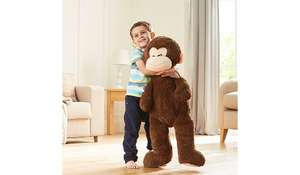 MORE stock *** Giant 1 metre high toy - monkey \ Elephant \ dog \ unicorn £10 @ Asda