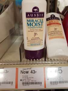 Aussie moist conditioner 75ml - 43p instore at boots highcross leicester