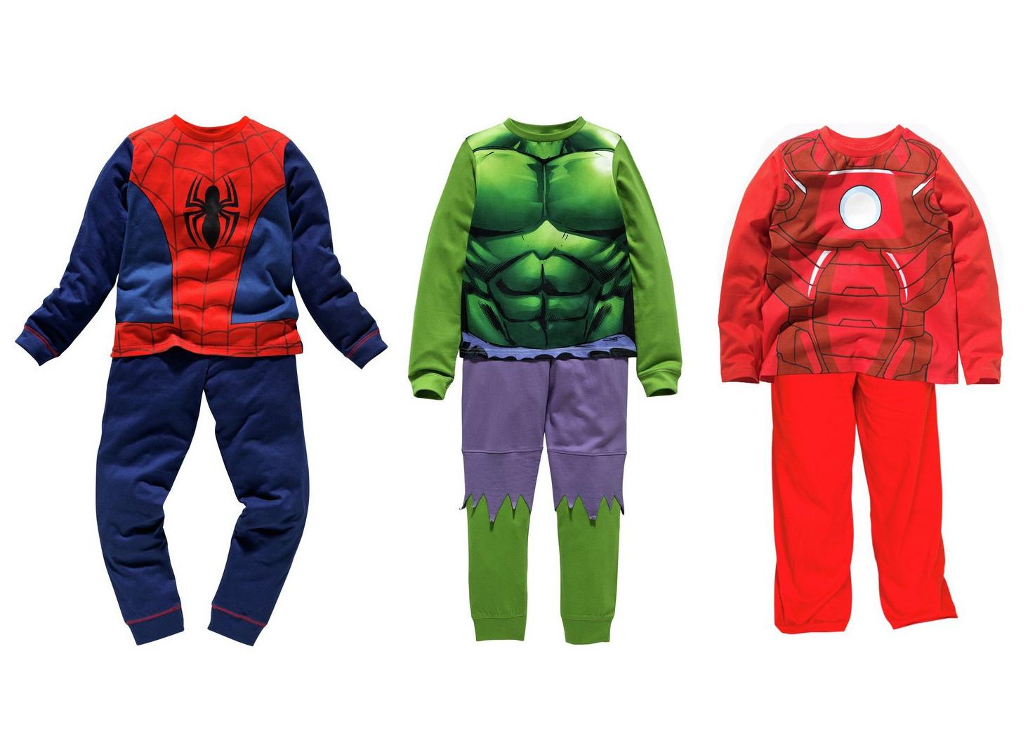 Kids Spider-Man, Hulk or Iron Man Cotton Novelty Pyjamas now £6.49 @ Argos