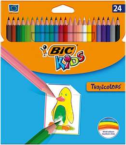 24 BIC colouring pencils £3.29 Prime / £7.28 Non Prime (£3.22 / £2.80 S+S) @ Amazon