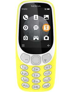 Nokia 3310 3G 2017 unlocked on Vodafone   for £19.99 plus £10 topup - £29.99 at CPW