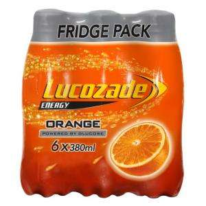 6 pack Lucozade 380ml Various Flavours £2 @ Tesco online and instore