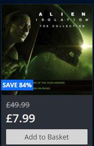 Alien: Isolation - The collection @ PSN store £7.99