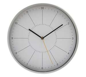 Hygena *Holden metal wall clock £5.49 was £24.99 @ Argos