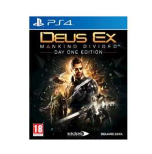 Deus Ex: Mankind Divided ,PS4 £4.00 (pre-owned) delivered @  Gamescentre