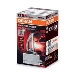 Osram Xenarc Night Breaker Unlimited D3S - £45.39 @ Amazon