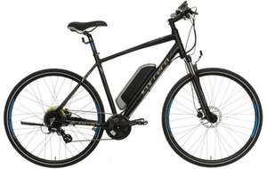 "Carrera Crossfire-E Mens Electric Bike - 17"", 19"", 21"" Frames £1000 @ Halfords"