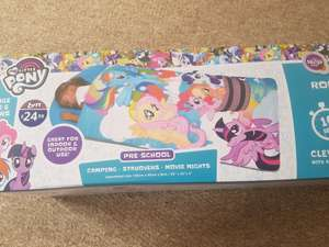 my little pony clever sleeping bag  £4.99 b&m Colchester